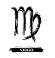 Virgo symbol vector image vector image