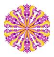 Round Hippie Ornament vector image