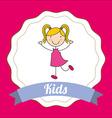 children design vector image