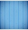 Blue binary computer code vector image