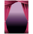 Stage Curtains Background vector image vector image