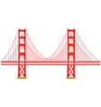 golden gate vector image