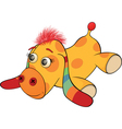 The toy burro cartoon vector image