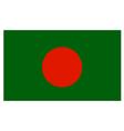 Bangladeshi Flag vector image