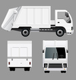 Garbage Disposal Truck vector image