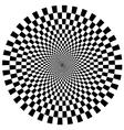 Circular tunnel vector image