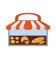 bakery bread shop vector image