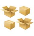box free shipping icon vector image vector image
