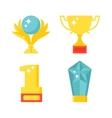 Award icons vector image