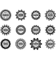 Set award icon for graphic and design studios vector image
