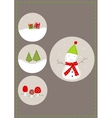 Picture for Christmas vector image