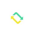 Twist Icon vector image