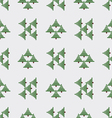 The background firs vector image