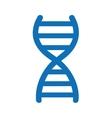 dna molecule symbol isolated icon design vector image