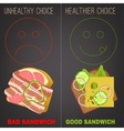 Nutrition infographic vector image