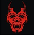 Red Devils vector image