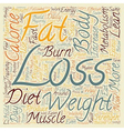 Scientific Guidelines for Effective Weight Loss vector image