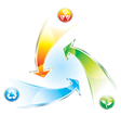 Recycle Arrow vector image vector image
