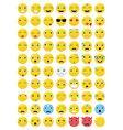 Emoticons Emoji Set vector image