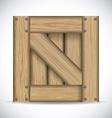 Wooden design vector image