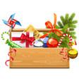 Christmas Toolbox vector image