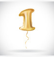 One first maiden top premier golden number 1 four vector image