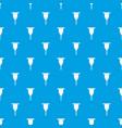 Drill bit pattern seamless blue vector image