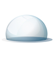 A dome without a holder vector image vector image