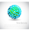 Background with abstract element vector image vector image