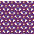 Christmas Vintage pattern vector image