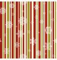 vintage Christmas seamless pattern vector image