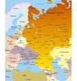 West Russia region vector image