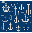 Various Anchor Collection vector image