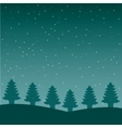 nature landscape tree vector image