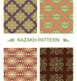 Kazakh pattern Traditional national pattern of vector image