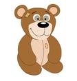 Cartoon cute Teddy bear vector image