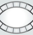 film tape frame vector image