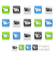 Folder Icons 2 Clean Series vector image