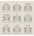 Label templates3 vector image