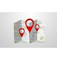 map template vector image