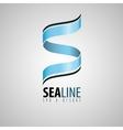 s logo spa and resort logo spa logo sea design vector image