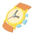 Watch icon cartoon style vector image