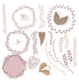 Set decoration Consists vector image