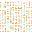 boho chic tribal seamless pattern vector image