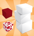 Box stack vector image