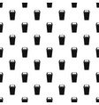 plastic flip lid bin pattern vector image