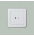 American electric socket 04 vector image