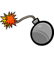 Bomb clip art cartoon vector image