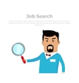 Job Searching Concept Flat vector image