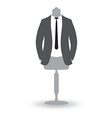 suit man vector image vector image